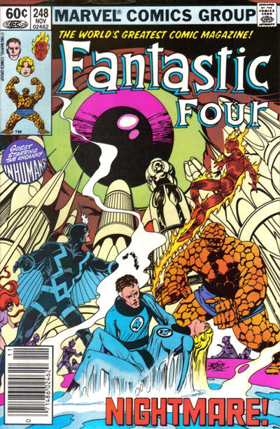 Cover for Fantastic Four (Marvel, 1961 series) #248 [Canadian variant]
