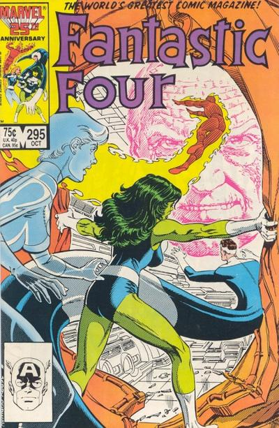 Cover for Fantastic Four (1961 series) #295 [Direct]