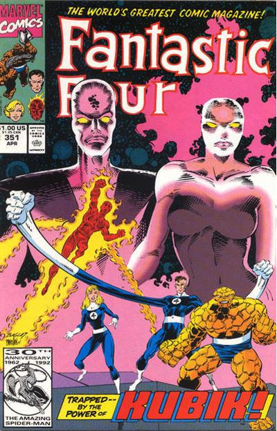 Cover for Fantastic Four (Marvel, 1961 series) #351 [Direct Edition]