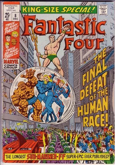 Cover for Fantastic Four Annual (1963 series) #8