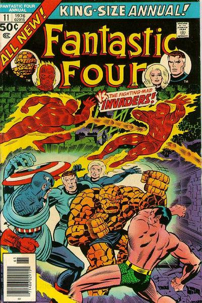 Cover for Fantastic Four Annual (Marvel, 1963 series) #11