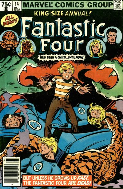 Cover for Fantastic Four Annual (Marvel, 1963 series) #14 [Direct Edition]