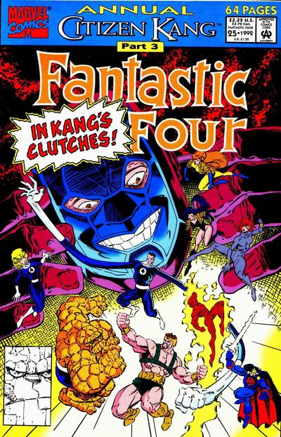 Cover for Fantastic Four Annual (Marvel, 1963 series) #25