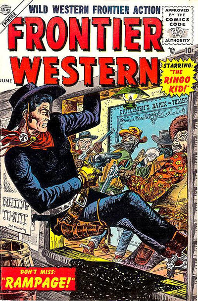 Cover for Frontier Western (Marvel, 1956 series) #3