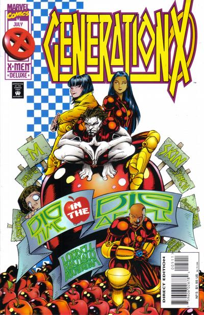 Cover for Generation X (Marvel, 1994 series) #5