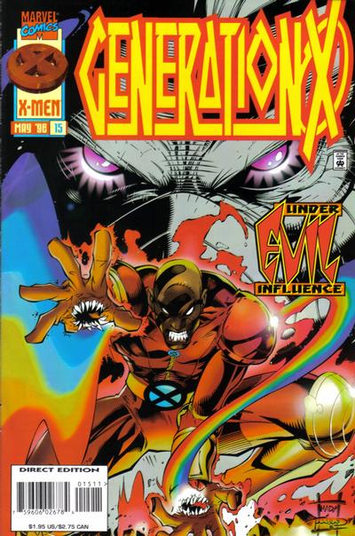 Cover for Generation X (Marvel, 1994 series) #15
