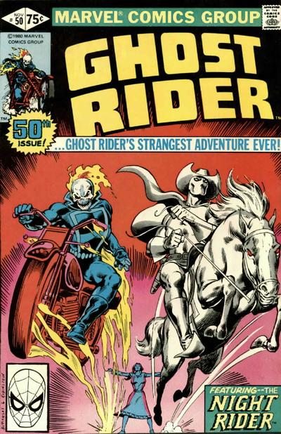 Cover for Ghost Rider (1973 series) #50