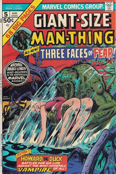Cover for Giant-Size Man-Thing (Marvel, 1974 series) #5