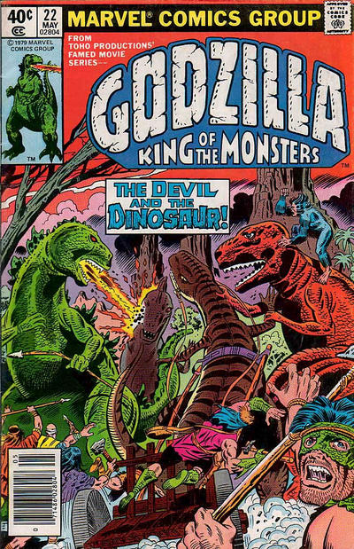 Cover for Godzilla (Marvel, 1977 series) #22 [Regular Edition]