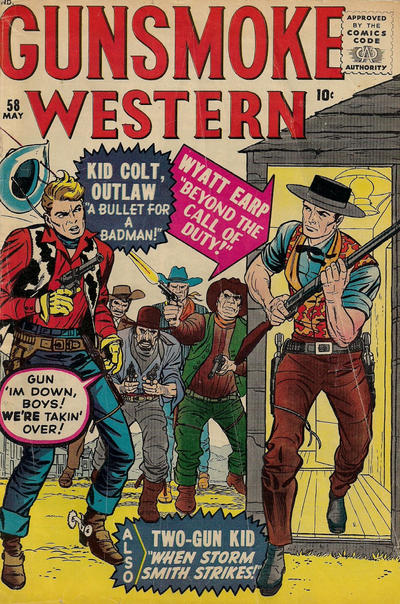 Cover for Gunsmoke Western (1955 series) #58
