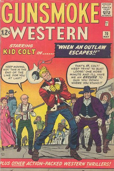 Cover for Gunsmoke Western (1955 series) #70