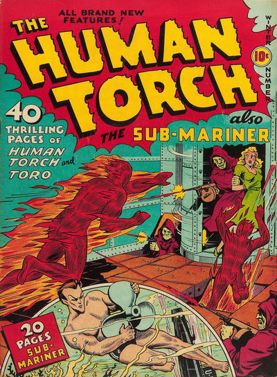 Cover for The Human Torch (1940 series) #3