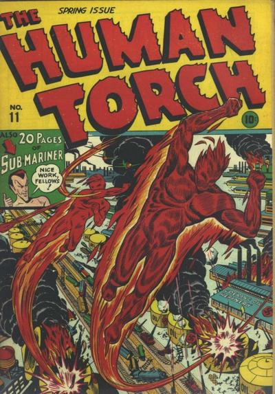 Cover for The Human Torch (Marvel, 1940 series) #11