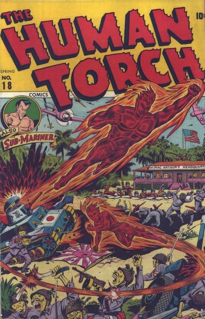 Cover for The Human Torch (Marvel, 1940 series) #18