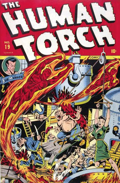 Cover for The Human Torch (Marvel, 1940 series) #19