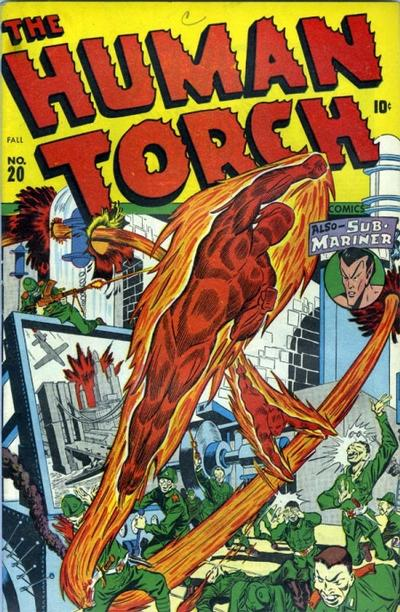Cover for The Human Torch (Marvel, 1940 series) #20