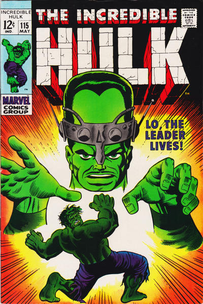 Cover for The Incredible Hulk (Marvel, 1968 series) #115