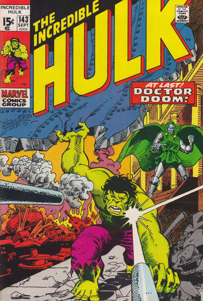 Cover for The Incredible Hulk (1968 series) #143