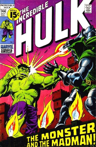 Cover for The Incredible Hulk (1968 series) #144