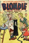 Cover for Blondie Comics Monthly (Harvey, 1950 series) #21