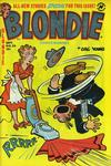 Cover for Blondie Comics Monthly (Harvey, 1950 series) #58