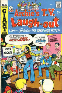 Cover Thumbnail for Archie's TV Laugh-Out (Archie, 1969 series) #16