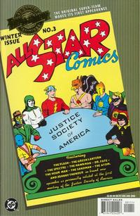 Cover Thumbnail for Millennium Edition: All Star Comics No. 3 (DC, 2000 series) #[nn]