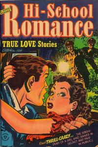 Cover Thumbnail for Hi-School Romance (Harvey, 1949 series) #17