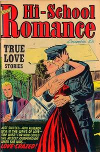 Cover Thumbnail for Hi-School Romance (Harvey, 1949 series) #18