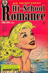 Cover for Hi-School Romance (Harvey, 1949 series) #33