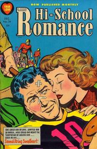 Cover Thumbnail for Hi-School Romance (Harvey, 1949 series) #34