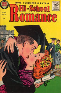 Cover Thumbnail for Hi-School Romance (Harvey, 1949 series) #40