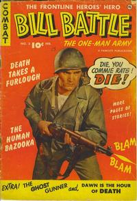 Cover Thumbnail for Bill Battle, the One Man Army (Fawcett, 1952 series) #3