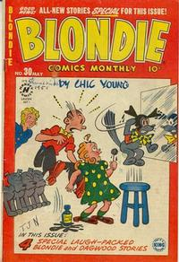 Cover Thumbnail for Blondie Comics Monthly (Harvey, 1950 series) #30