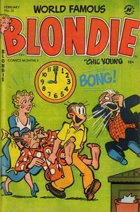 Cover Thumbnail for Blondie Comics Monthly (Harvey, 1950 series) #51