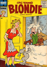 Cover Thumbnail for Blondie Comics Monthly (Harvey, 1950 series) #99