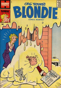 Cover Thumbnail for Blondie Comics Monthly (Harvey, 1950 series) #110