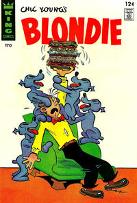 Cover Thumbnail for Blondie (King Features, 1966 series) #170