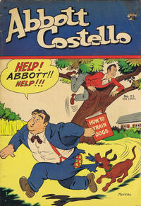 Cover Thumbnail for Abbott and Costello Comics (St. John, 1948 series) #25