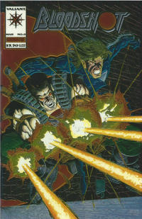 Cover Thumbnail for Bloodshot (Acclaim / Valiant, 1993 series) #0 [Standard Cover]