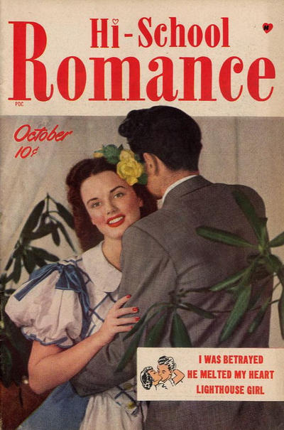 Cover for Hi-School Romance (Harvey, 1949 series) #1