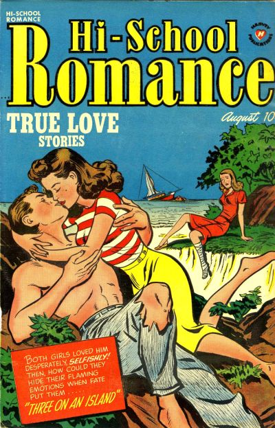 Cover for Hi-School Romance (Harvey, 1949 series) #10