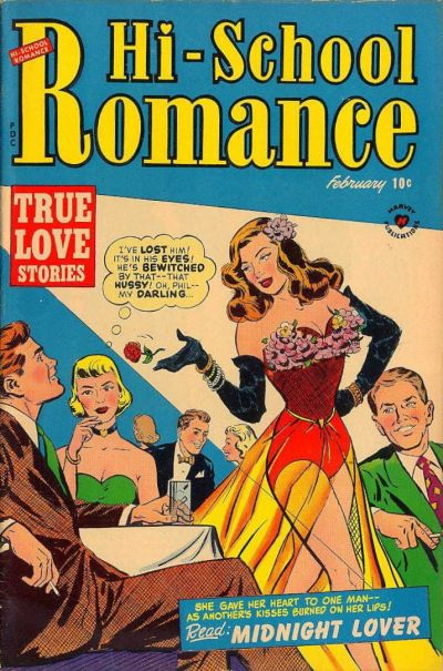 Cover for Hi-School Romance (Harvey, 1949 series) #13