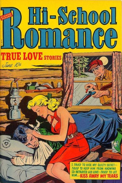 Cover for Hi-School Romance (Harvey, 1949 series) #15