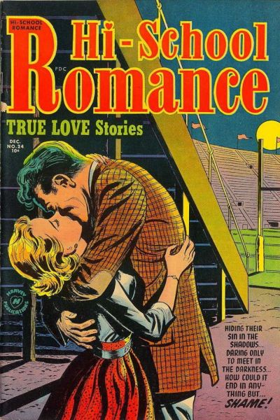 Cover for Hi-School Romance (Harvey, 1949 series) #24