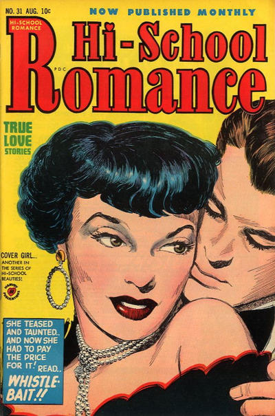 Cover for Hi-School Romance (Harvey, 1949 series) #31