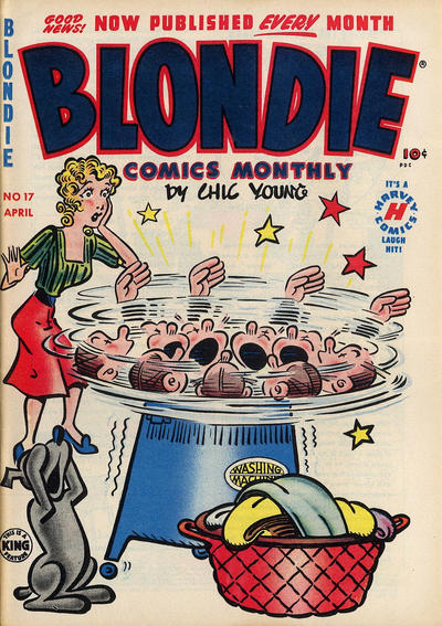 Cover for Blondie Comics Monthly (Harvey, 1950 series) #17
