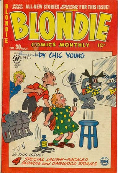 Cover for Blondie Comics Monthly (Harvey, 1950 series) #30