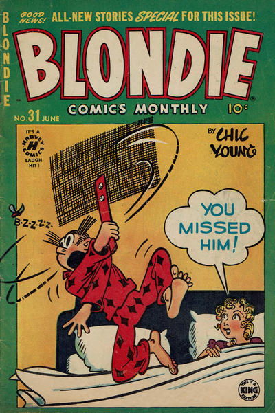 Cover for Blondie Comics Monthly (Harvey, 1950 series) #31