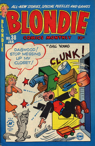 Cover for Blondie Comics Monthly (Harvey, 1950 series) #38